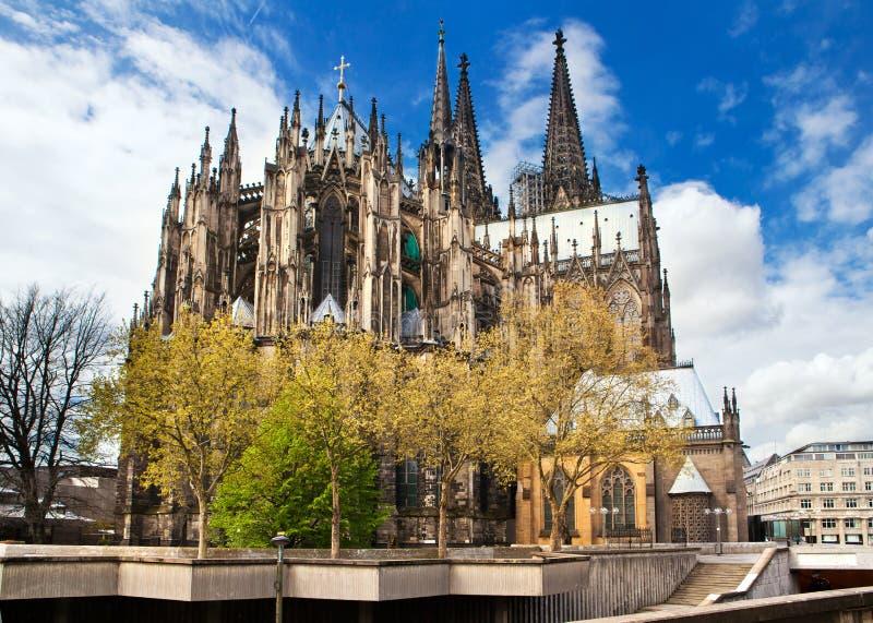 Catedral de Colónia em Alemanha fotos de stock