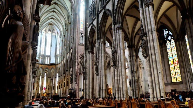 Catedral de Colonia fotos de archivo