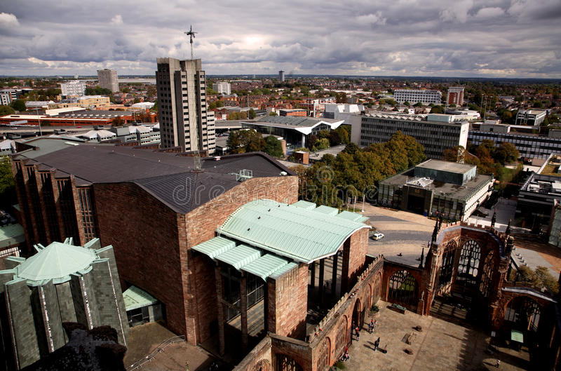 Catedral de Coventry foto de stock royalty free