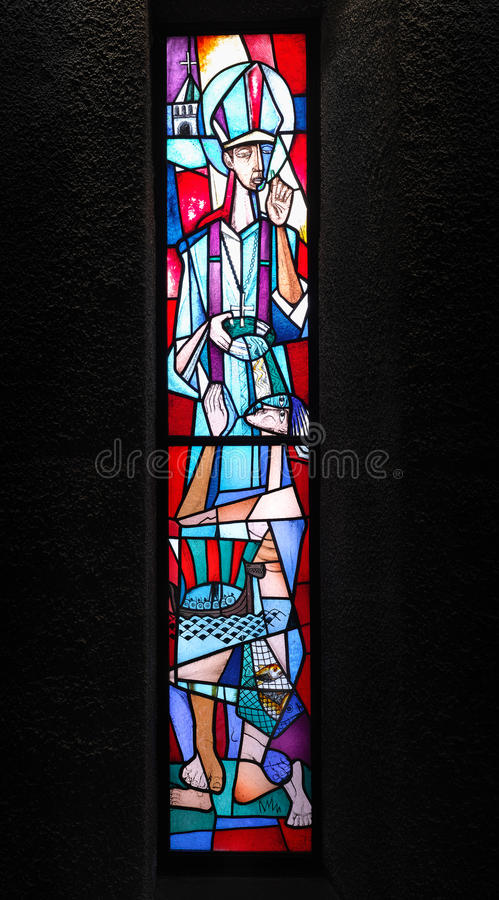 Catedral de Coventry imagem de stock royalty free