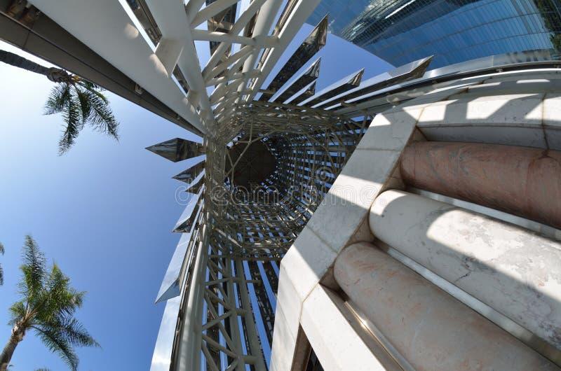 Catedral de cristal foto de stock royalty free