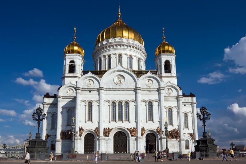 Catedral de Cristo el salvador imagen de archivo
