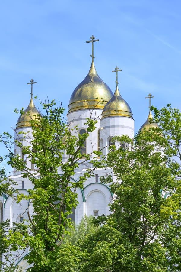 Catedral de Cristo el salvador en Kaliningrado foto de archivo libre de regalías