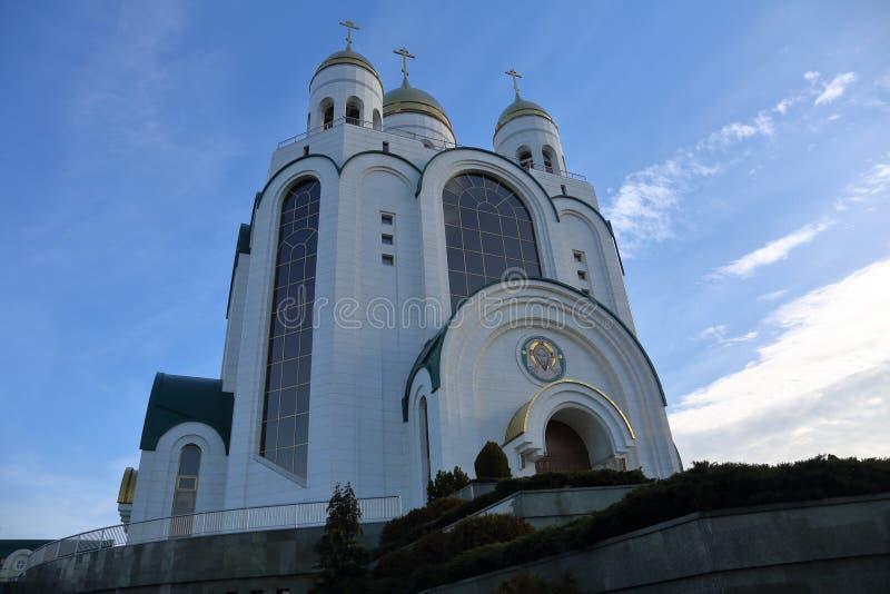 Catedral de Cristo el salvador, Kaliningrado, Rusia imagen de archivo libre de regalías