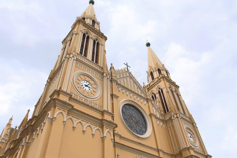 Catedral de Curitiba imagem de stock royalty free
