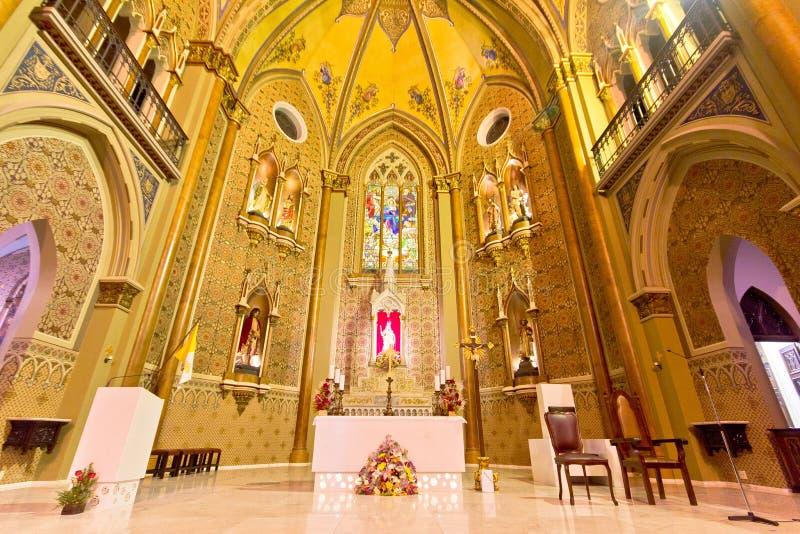 Catedral de Curitiba, Brasil imagem de stock royalty free