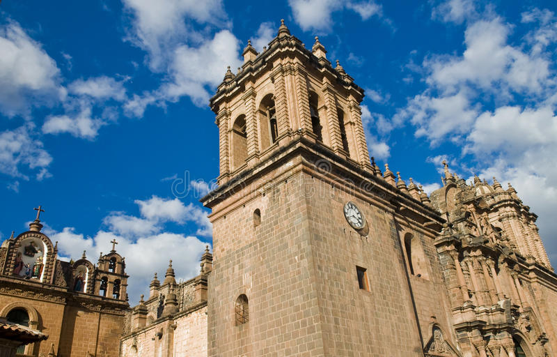 Catedral de Cusco imagens de stock royalty free
