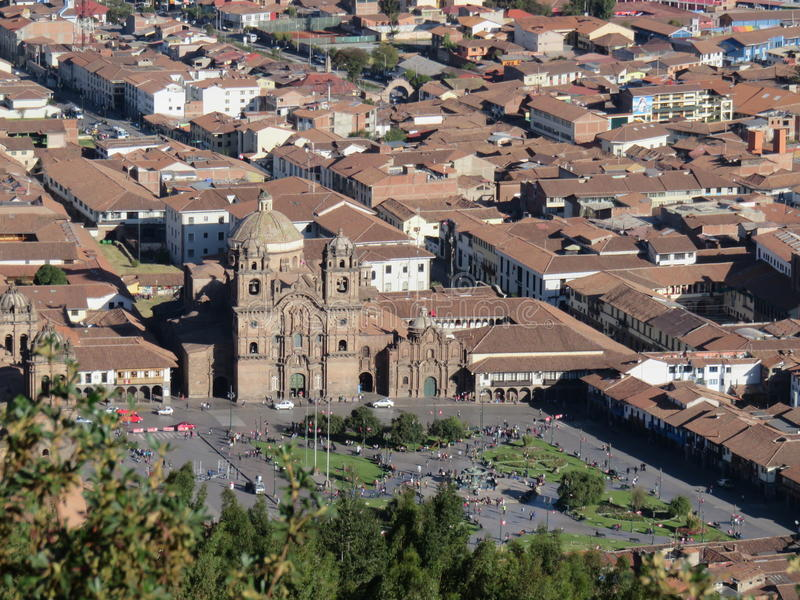 Catedral de Cusco - Perú imágenes de archivo libres de regalías