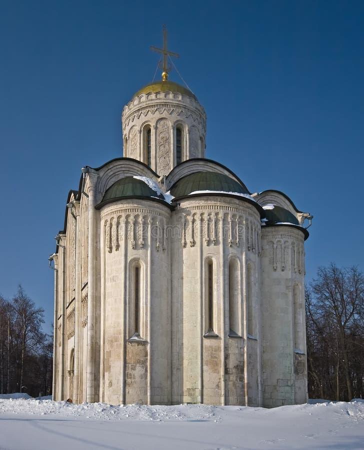 Catedral de Demetrius de Saint fotografia de stock
