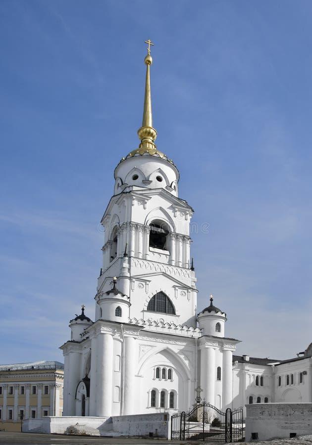 Catedral de Dormition en Vladimir imágenes de archivo libres de regalías