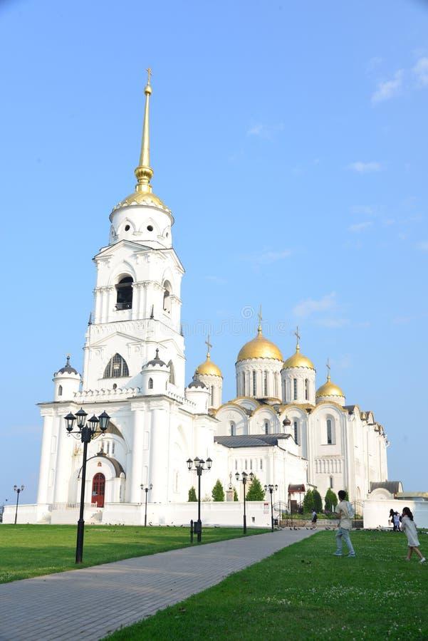 Catedral de Dormition, Vladimir en Rusia fotos de archivo libres de regalías
