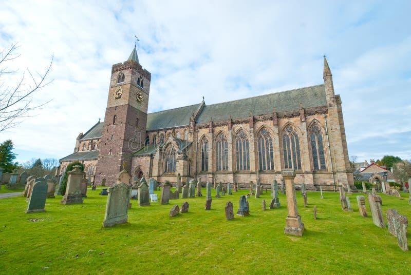 Catedral de Dunblane imagen de archivo libre de regalías