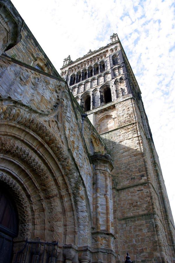 Catedral de Durham (Inglaterra) imagen de archivo