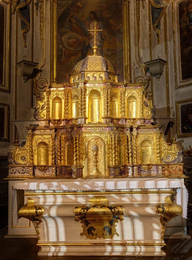 Catedral de Embrun - Embrun - Alpes - França foto de stock royalty free