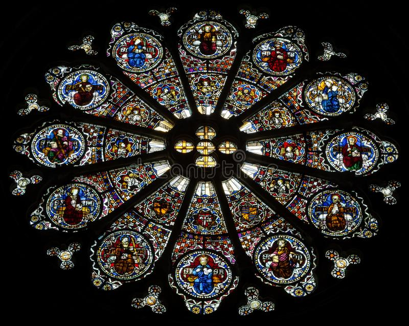 Catedral de Embrun - Embrun - Alpes - Francia foto de archivo
