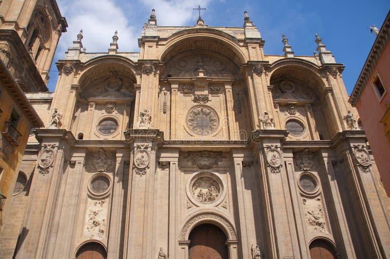 Catedral de Encarnación en Granada fotos de archivo libres de regalías