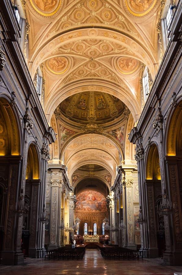 Catedral de Ferrara foto de archivo libre de regalías
