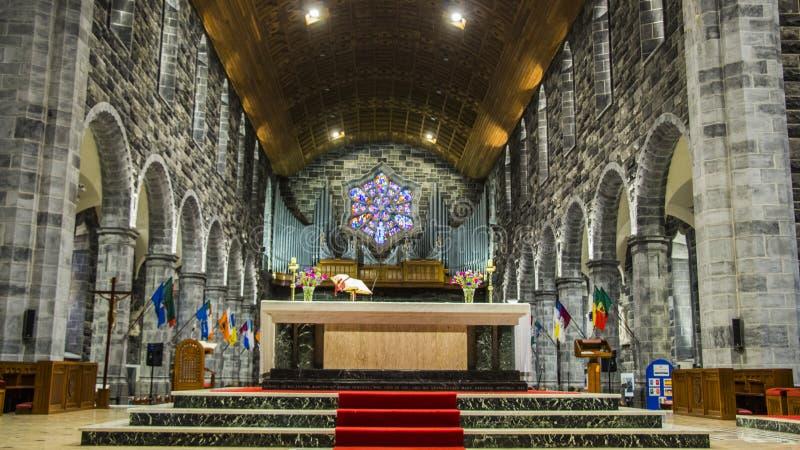 Catedral de Galway imagem de stock