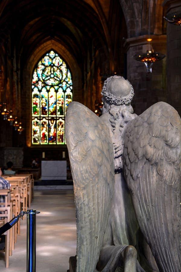 Catedral de Giles de Saint imagens de stock royalty free