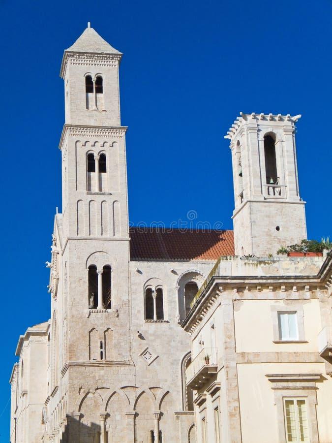 Download Catedral De Giovinazzo. Apulia. Imagem de Stock - Imagem de altura, construção: 12808127