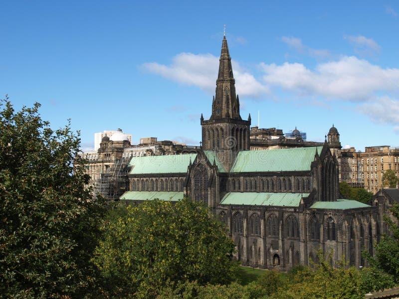 Catedral de Glasgow fotos de stock