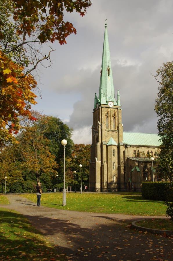 Catedral de Goteburgo imágenes de archivo libres de regalías