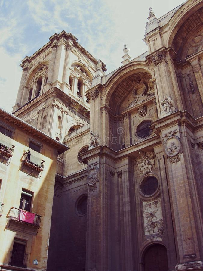 45 - catedral de Granada fotografía de archivo libre de regalías