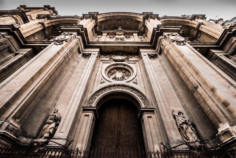 45 - catedral de granada imagens de stock royalty free