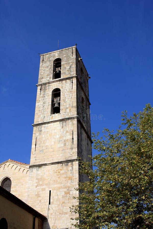 Catedral de Grasse, França imagem de stock royalty free