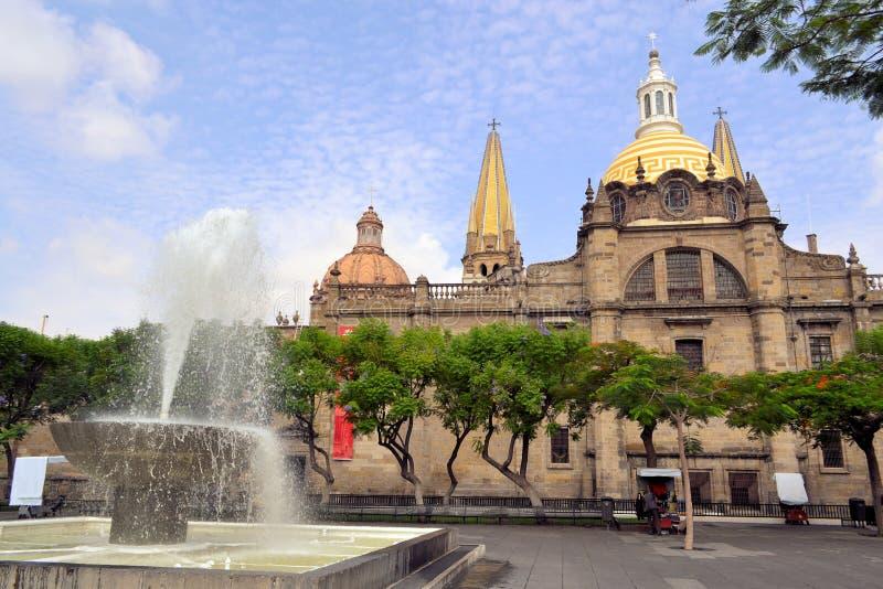 Catedral de Guadalajara, Jalisco (México) imágenes de archivo libres de regalías