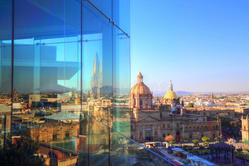 Catedral de Guadalajara, México fotos de stock