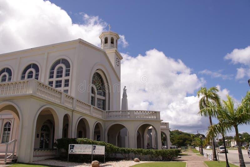 Catedral de Guam Agana imagens de stock
