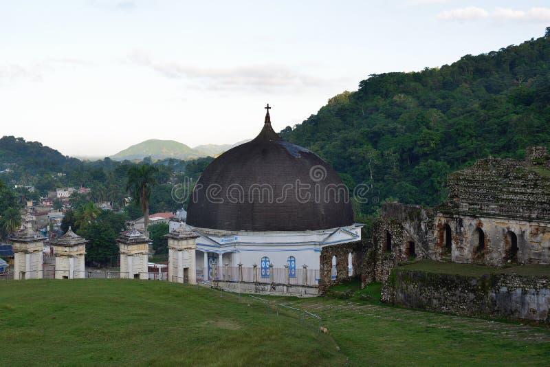 Catedral de Haiti em Milot fotografia de stock royalty free