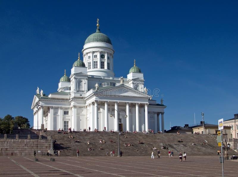 A catedral de Helsínquia fotografia de stock