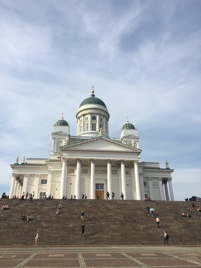Catedral de Helsínquia, Finlandia imagem de stock