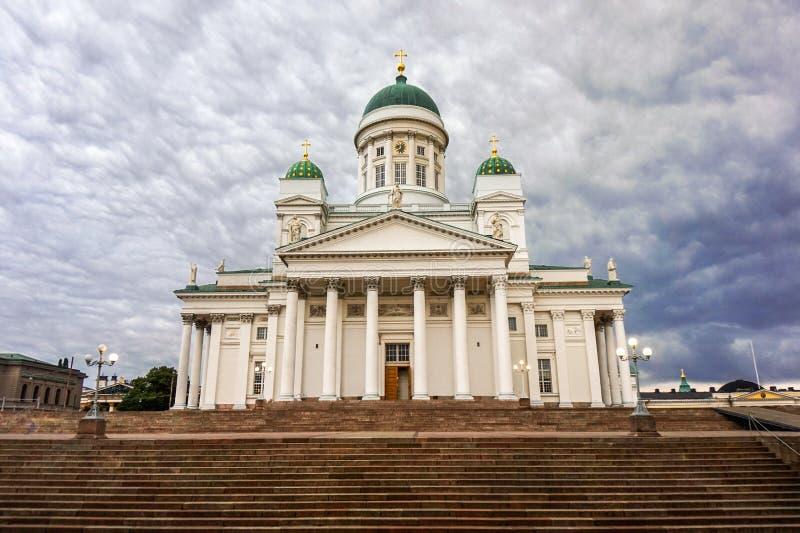 Catedral de Helsinky foto de stock royalty free