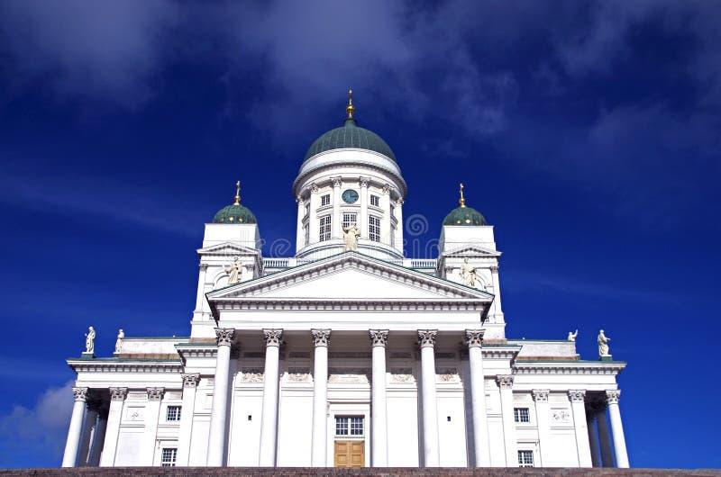 Catedral de Helsinky fotografía de archivo libre de regalías
