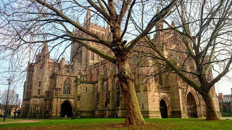 Catedral de Hereford fotografía de archivo libre de regalías