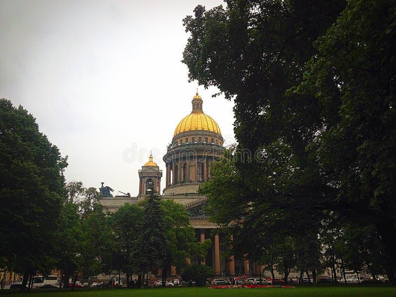Catedral de Isaac del santo foto de archivo