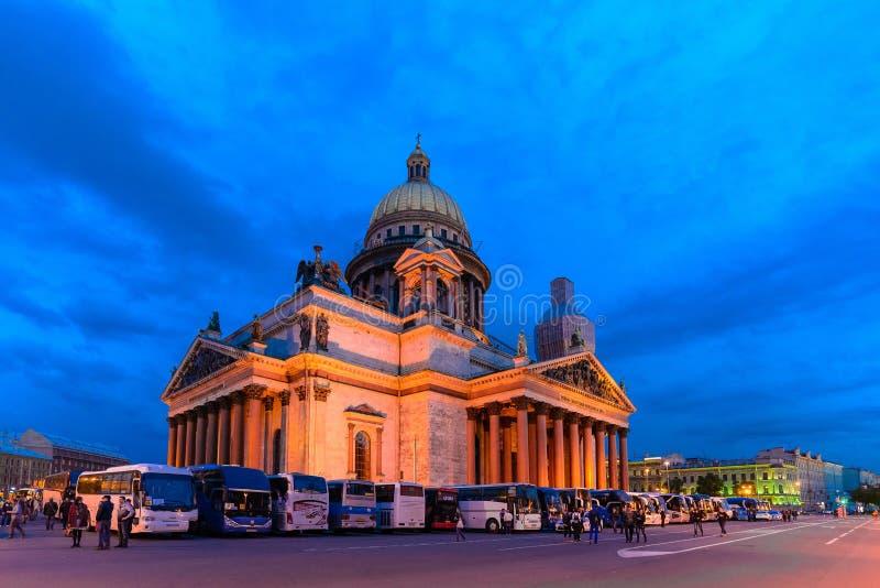 Catedral de Isaakievsky fotos de stock