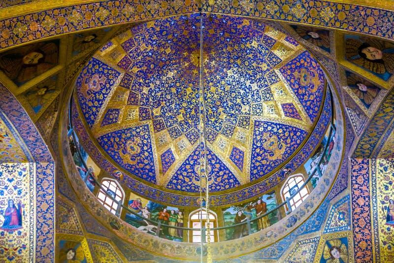 Catedral 08 de Isfahán Vank imagen de archivo libre de regalías