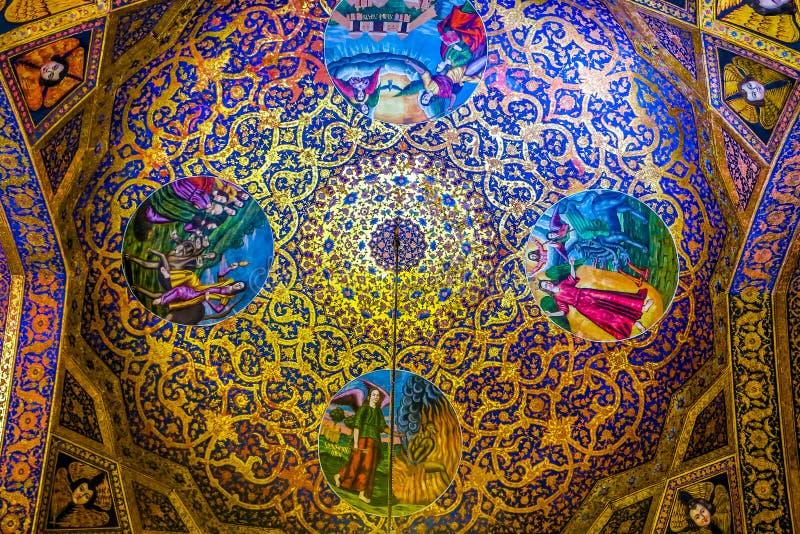 Catedral 09 de Isfahán Vank fotografía de archivo libre de regalías