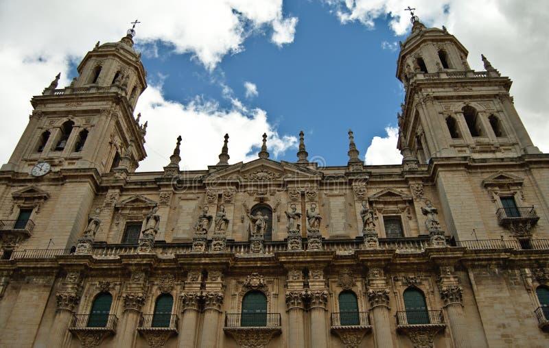 Catedral de Jaén fotografía de archivo