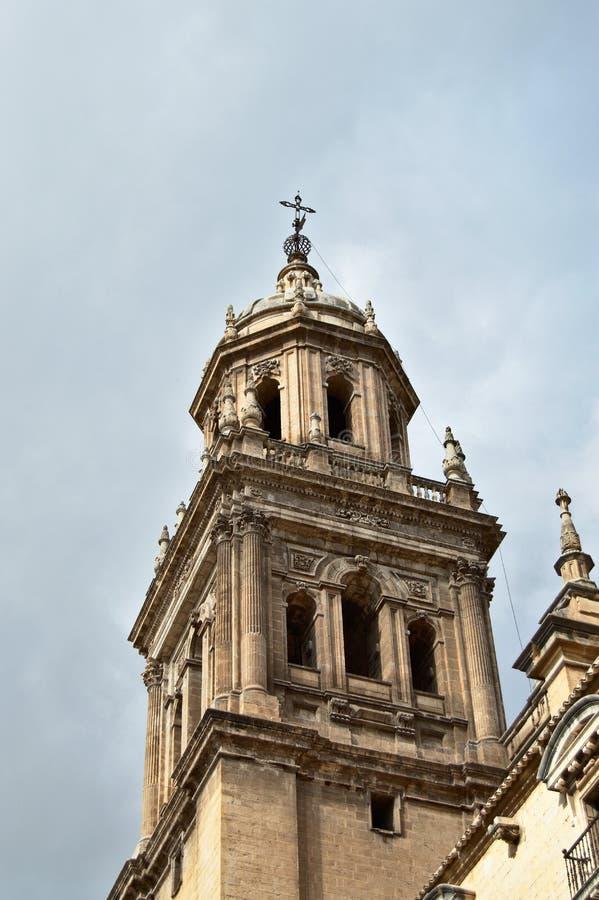 Catedral de Jaén imagen de archivo libre de regalías