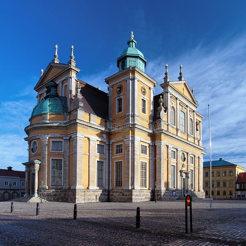Catedral de Kalmar, Suecia fotografía de archivo libre de regalías