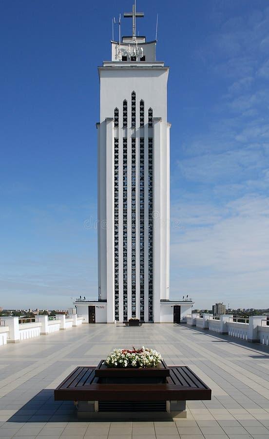 Catedral de Kaunas imagem de stock