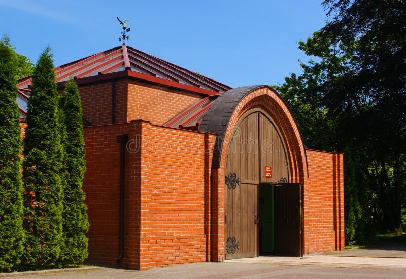 Catedral de Konigsberg fuera del edificio fotos de archivo