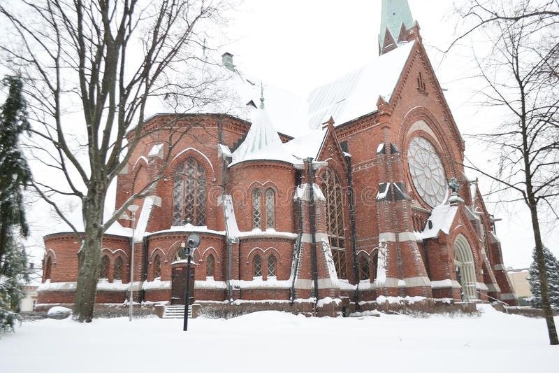 Catedral de Kotka foto de archivo