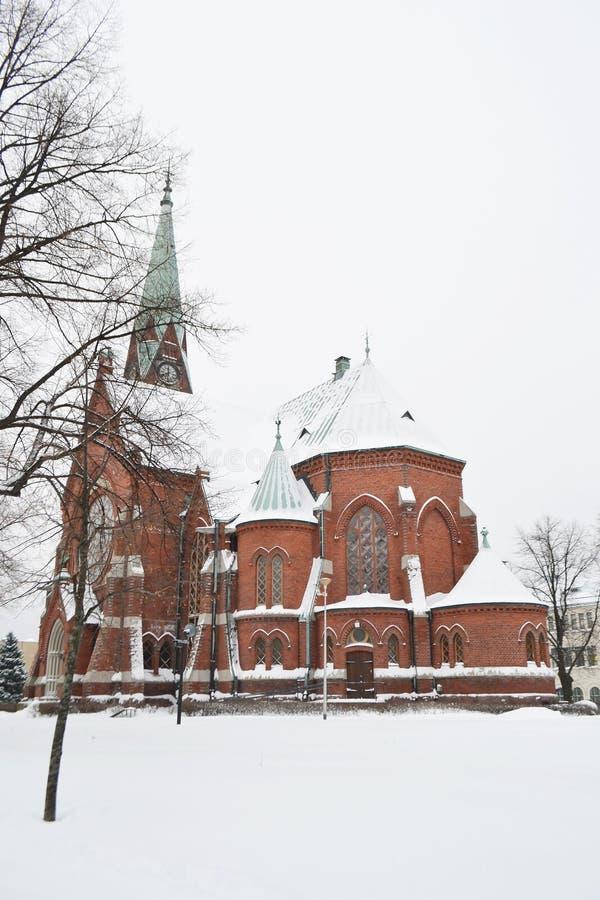 Catedral de Kotka fotos de archivo libres de regalías