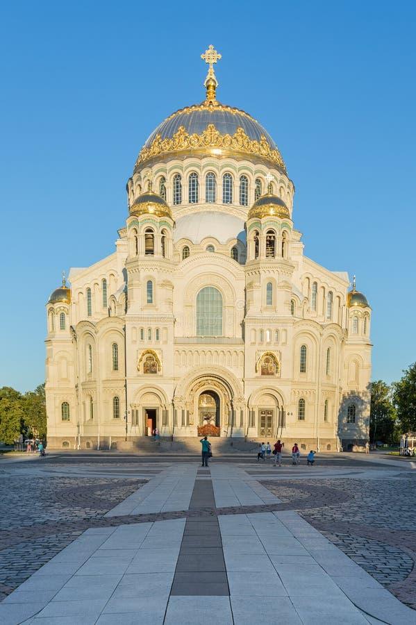 Catedral de Kronstadt fotografia de stock royalty free